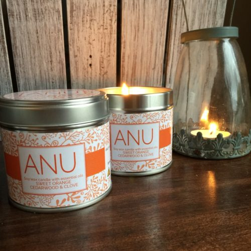 Candle Orange Cedarwood Clove