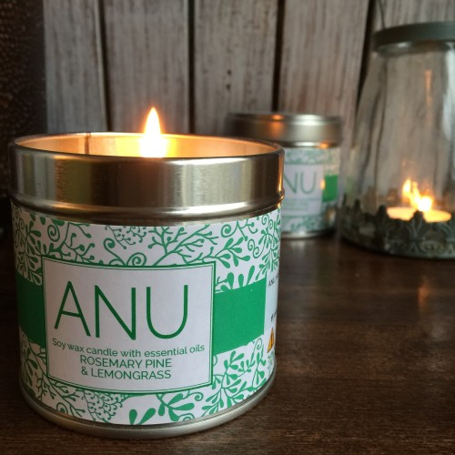 Candle Rosemary Pine Lemongrass