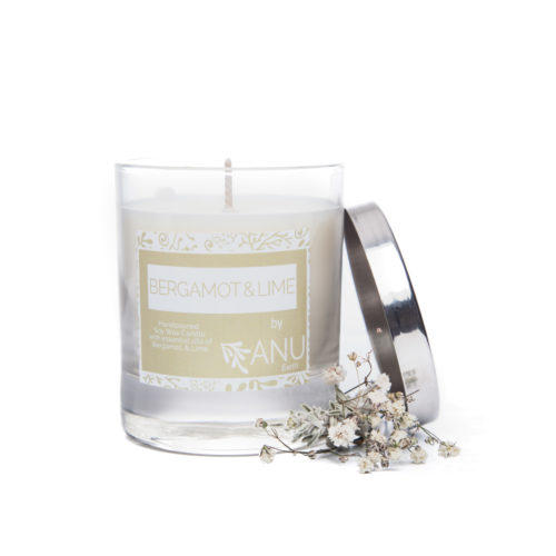 Therapeutic candle bergamot & lime