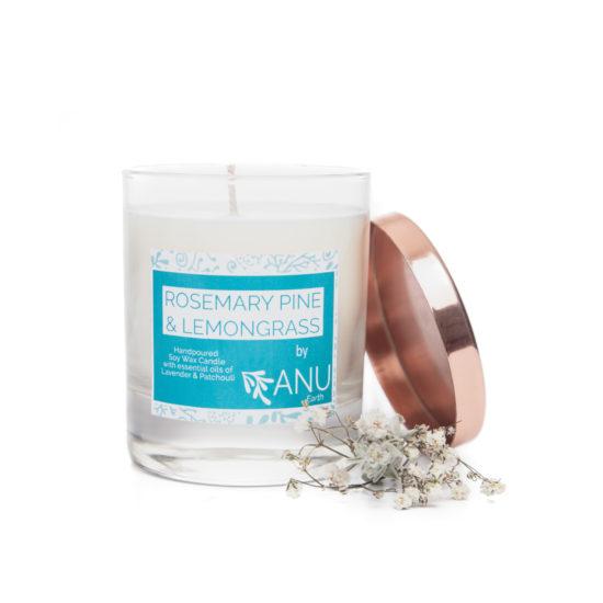 Irish Candle Rosemary Pine Lemongrass