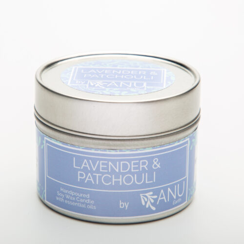 lavender and patchouli candle