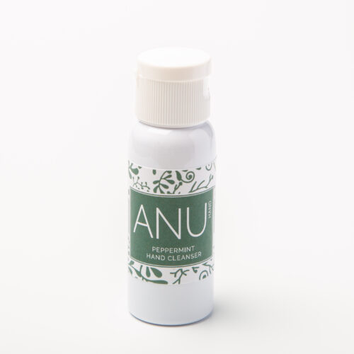 natural hand cleanser peppermint